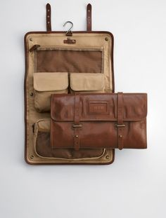 Leather Excursion Travel Case