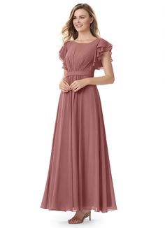 Discover our stunning collection of Modest Bridesmaid Dresses and enjoy your perfect look of Azazie Daphne for your big day. Petite Dresses, Modest Dresses, Prom Dresses, Dresses With Sleeves, Semi Formal Dresses Modest, Bride Dresses, Dusty Rose Bridesmaid Dresses, Bridesmaids, Mom Dress