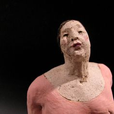 Anna Kozłowska- Łuc Traditional Sculptures, Different Forms Of Art, Ceramic Figures, Craft Art, Italian Renaissance, Clays, Pottery Art, Art Forms, Puppets