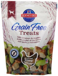 Hill's Science Diet Grain-Free Dog Treats, 8-Ounce * Unbelievable  item right here! (This is an amazon affiliate link. I may earn commission from it)