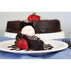 Legendary Flourless Chocolate Cake Mix.  Made without flour.