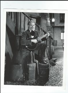 Original, vintage promo photo of Nelson Eddy for Maytime (1937) - ESCANO COLLECTION