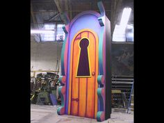 Alice In Wonderland Door Keyhole | Alice in Wonderland - Theatrical Projects - Capital Scenic, Inc.