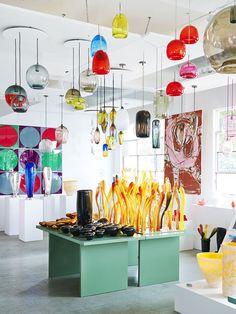 The Richmond showroom of Mark Douglass.  Photo - Eve Wilson.