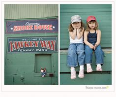 The picture to the right is the moment they found out the sox lost the away game. Too cute.