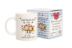 Valentines Mugs, Love, Tableware, Amor, Dinnerware, Dishes, Romances