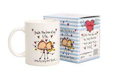 Valentines Mugs, Love, Tableware, Amor, Dinnerware, Tablewares, Dishes, Place Settings