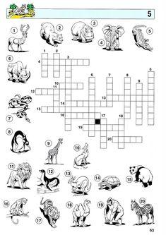 Los Deportes crossword puzzle #1 from PrintableSpanish.com