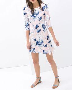 ZARA - SALE - FLORAL PRINT DRESS
