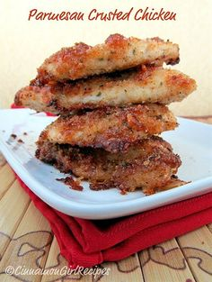 Parmesan Crusted Chicken. Quick and easy