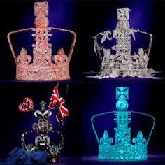 Queen's Diamond Jubilee: Harrods' designer crown collection in pictures