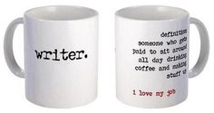 A Writer's Mug by Amanda Patterson - *Be patient, Dustin. Don't freak out. Wait for it, wait for it...*