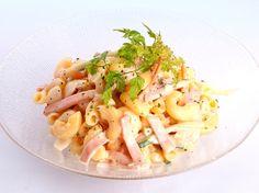 マカロニサラダ - 茂出木 浩司シェフのレシピです。 | プロから学ぶ簡単家庭料理 シェフごはん