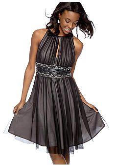 66670c529c6 Pretty mesh overly party dress Feminine Style