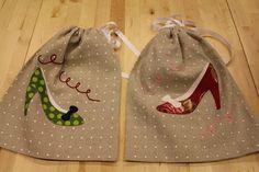 shoes bag!   Site com patchwork otumos