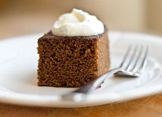 Old-fashioned gingerbread is the perfect treat to keep on hand during the holidays. There are many different kinds -- from the darkest, densest cakes made with robust molasses and stout beer to the lightest, most delicate cakes flavored only with brown sugar and a hint of ground ginger. This recipe, adapted from