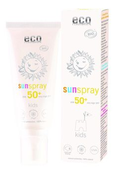 eco cosmetics, kids, sun spray, spf50. Buy now at LoveLula - The World's Natural Beauty Shop. FREE Delivery Worldwide.