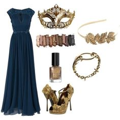 What a weird way to dress in ravenclaw to go to the Yule Ball