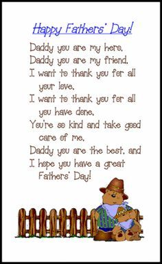 Happy Father's Day Poem From the Dog haha that is funny.