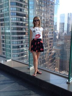 New York - Hotel Le Parker Meridian - kiss - Love - Happiness t-shirt - night market gonna @fashion
