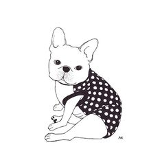 Polly in #pipolli polka dots top #illustration
