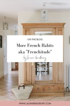 Fantastic diy french country decor are offered on our web pages. look at this and you wont be sorry you did. French Country Kitchens, French Country Bedrooms, French Country Living Room, French Country Cottage, French Country Style, French Farmhouse, French Chic, Farmhouse Decor, French Women Style