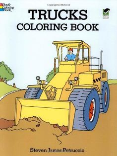 Trucks Coloring Book (Dover Design Coloring Books) by Steven James Petruccio. Brand New Item / Unopened Product. Adult Coloring, Coloring Books, Colouring, Construction Crafts, Construction Birthday, Dover Publications, Detailed Drawings, Reading Levels, Free Download