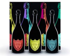 Dom Perignon by Andy Warhol