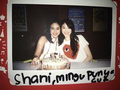 Shani with Sisca birthday photo