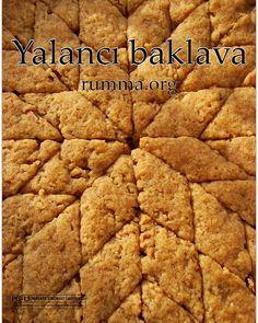 Sweet Pastries, Bread And Pastries, Homemade Desserts, Dessert Recipes, Turkish Breakfast, Tahini, Turkish Recipes, Beautiful Cakes, Cake Cookies