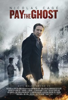 Pay the Ghost on DVD November 2015 starring Sarah Wayne Callies, Nicolas Cage. Nicolas Cage stars in this intense and chilling thriller about one man's desperate search for his missing child. One year after his youn Sarah Wayne Callies, 2015 Movies, Hd Movies, Movies To Watch, Movies Online, Suspense Movies, Latest Movies, Nicolas Cage, Ghost Movies