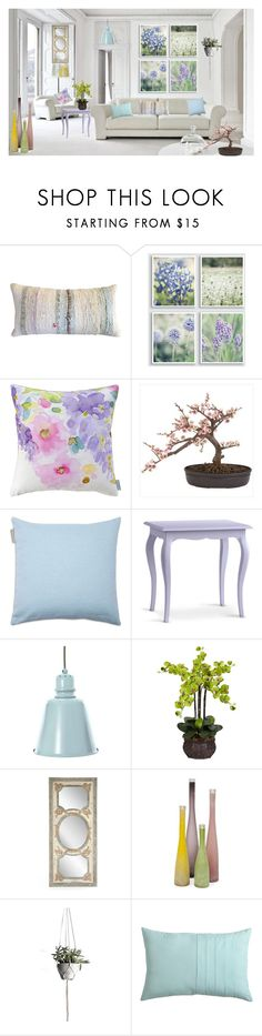 """Pastels"" by vettec ❤ liked on Polyvore featuring interior, interiors, interior design, home, home decor, interior decorating, Bluebellgray, Nearly Natural, Madura and Redford House"
