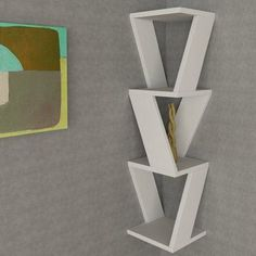 Decortie Design Zena Corner Shelf Finish: