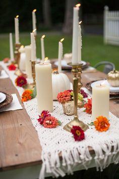 rosh hashanah table decor
