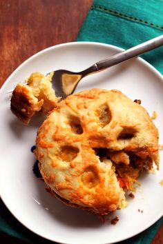 curried root vegetable pot pies