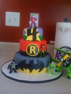 I see a Batman birthday party in my near future.