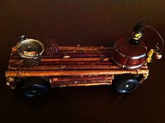 Boyscout Pinewood Derby Car- Tom Sawyer's Raft