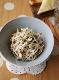 鶏むね肉とゴボウのマヨマスタードサラダ by 楠みどり 「写真がきれい」×「つくりやすい」×「美味しい」お料理と出会えるレシピサイト「Nadia | ナディア」プロの料理を無料で検索。実用的な節約簡単レシピからおもてなしレシピまで。有名レシピブロガーの料理動画も満載!お気に入りのレシピが保存できるSNS。