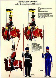 Cavalleria dell'avanguardia austriaca a Wagram