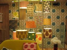 Visiting Orla Kiely London (+ new pendants) | decor8one of everything please
