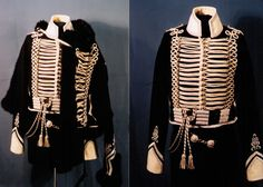 Prussian Hussar, officer's dolman and pelisse.