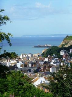 Hastings Old Town, East Sussex,  a medieval Cinque  Port town on the  south coast. The Battle of Hastings in 1066 was fought at Senlac Hill at the start of the Norman Conquest.