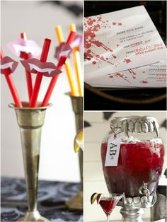 Vampire-Themed Party Printables