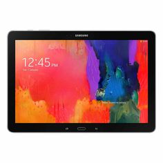"""Samsung Galaxy Tab Pro 12.2"""" Tablet 32GB Refurbished (00818970019669) Refurbished Samsung Galaxy TabPRO 12.2 with WiFi 12.2"""" Touchscreen Tablet PC: Technical Specifications: 1.9GHz Quad-Core processor 3GB of system memory 12.2"""" touchscreen, 2560 x 1600 resolution, virtual keyboard Built-in 802.11a/b/g/n/ac WiFi and Bluetooth v4.0 LE Additional Features: Back 8MP webcam and front 2MP HD webcam with microphone microUSB 3.0 port 32GB on-board storage memory, additional memory via microSD card…"""