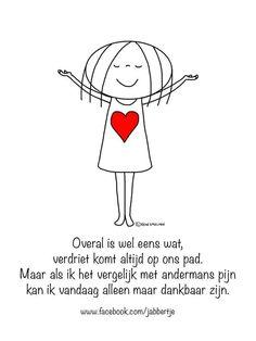 Dankbaar zijn!   Www.jabbertje.nl