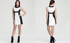 Rachel Zoe Open Collar Dress - Madison II