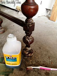 cleaning furniture with TSP
