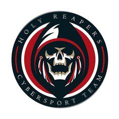 Разработан логотип для кибер спортивной команды- Holy Reapers