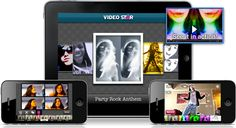 Great app for making music videos!  Some examples:    http://www.youtube.com/watch?v=X1NOSk9vo0s  http://www.youtube.com/watch?v=6xAMgT6r45s  http://www.youtube.com/watch?v=vYS_q_9nkyo  http://www.youtube.com/watch?v=YCIItDpq2JM   http://www.youtube.com/watch?v=6KRYpTaJL1U  http://www.youtube.com/watch?v=JAPfV-uU8Uc  http://www.youtube.com/watch?v=4h_TYz4p0No
