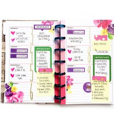 Horizontal Happy Planning® & a MINI to match by mambi Design Team member April Orr | me & my BIG ideas